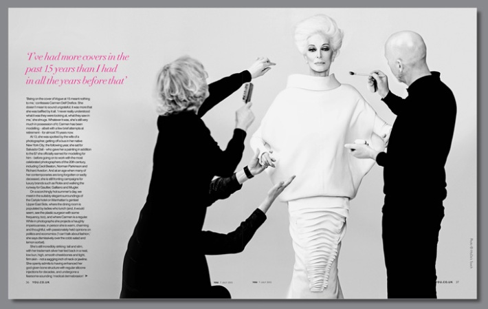 Carmen Dell'Orefice for You Magazine 2013-002 3
