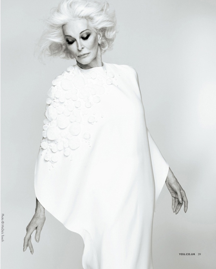 Carmen Dell'Orefice for You Magazine 2013-003 4