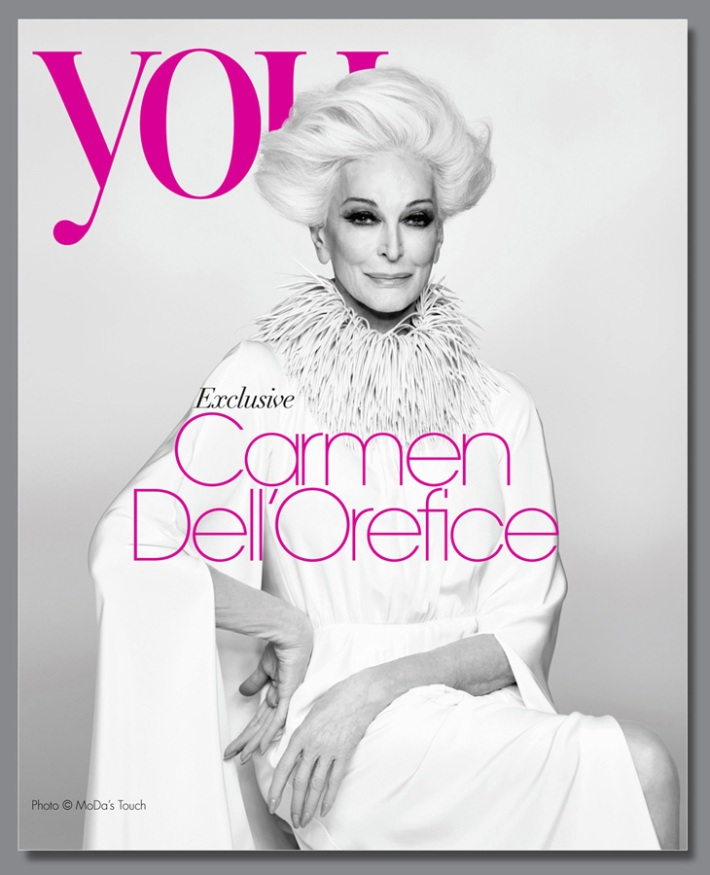 Carmen Dell'Orefice for You Magazine 2013 7